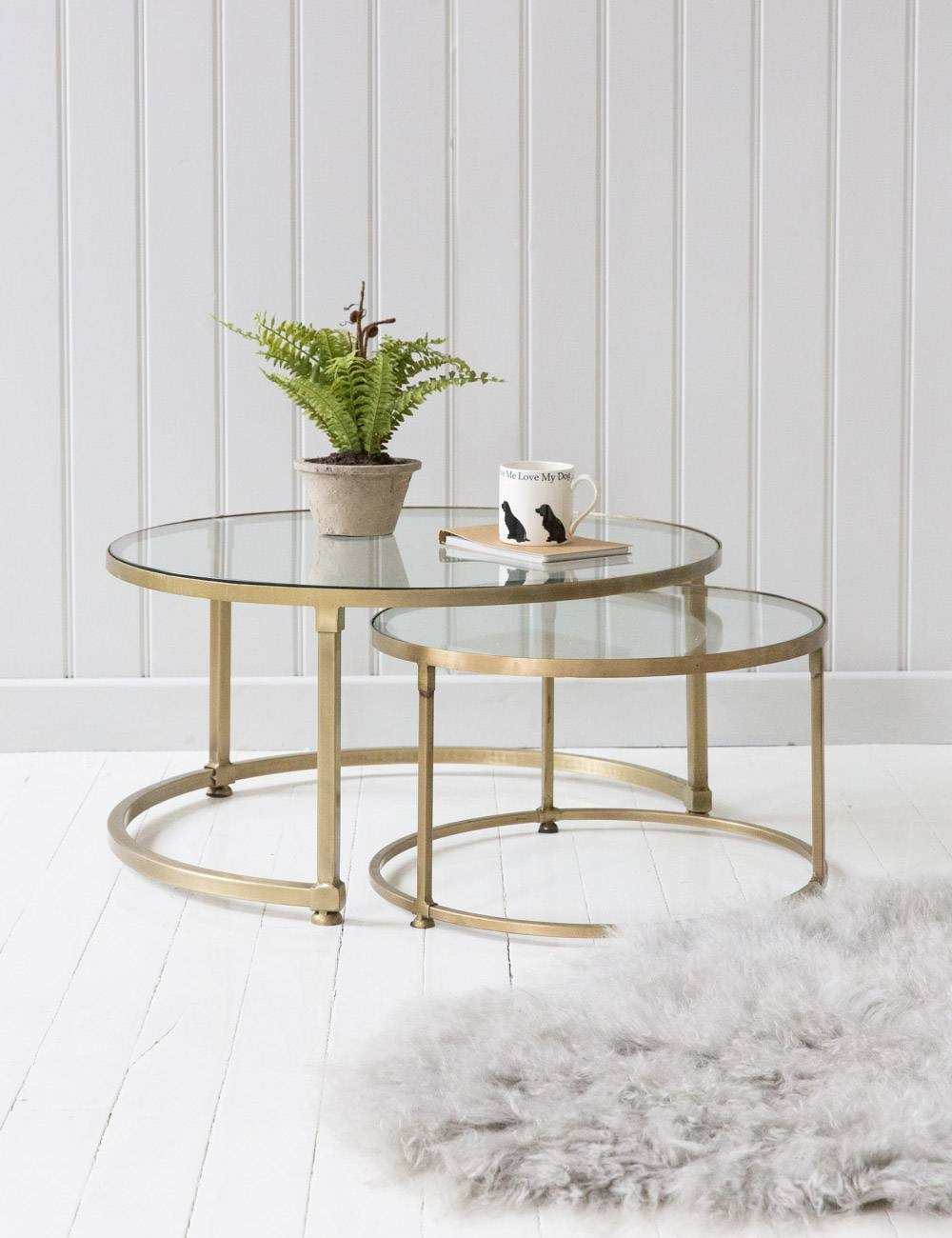 Extraordinary Table For Exotic Home Interior With Small Round intended for Swirl Glass Coffee Tables (Image 10 of 30)