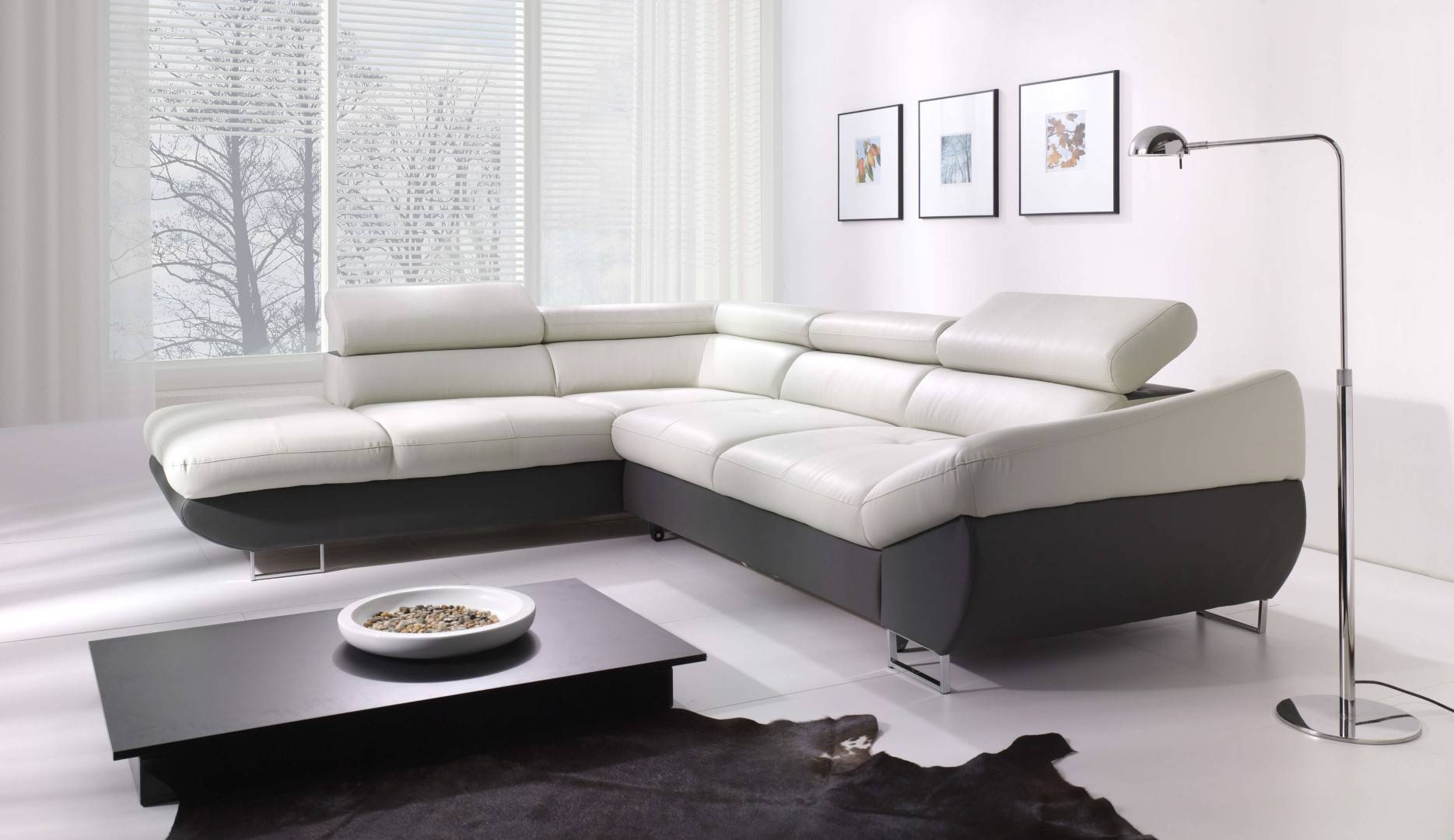 Fabio Sectional Sofa Sleeper With Storage | Creative Furniture pertaining to Sectional Sofa With Storage (Image 5 of 25)