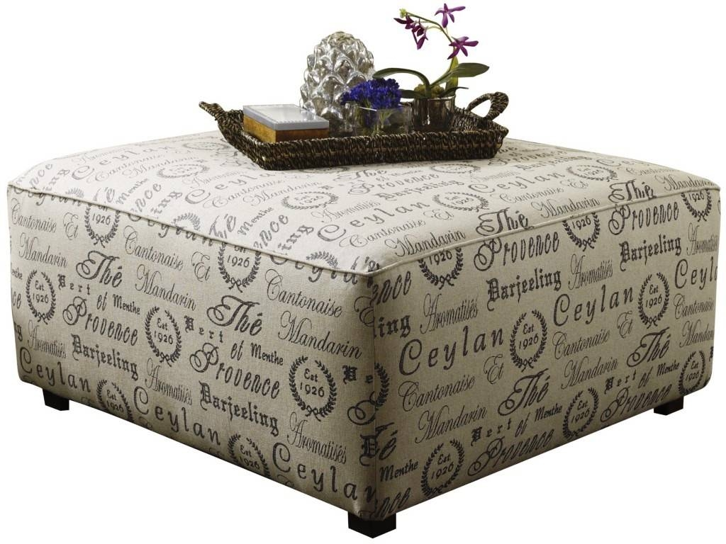 Fabric Covered Ottoman Coffee Table : Best Ottoman Coffee Table within Fabric Coffee Tables (Image 14 of 30)