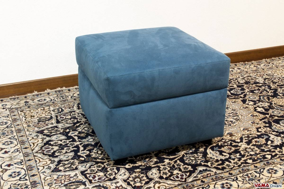 Fabric Footstool With Storage Box. Create Your Own Custom Model! pertaining to Fabric Footstools (Image 2 of 30)