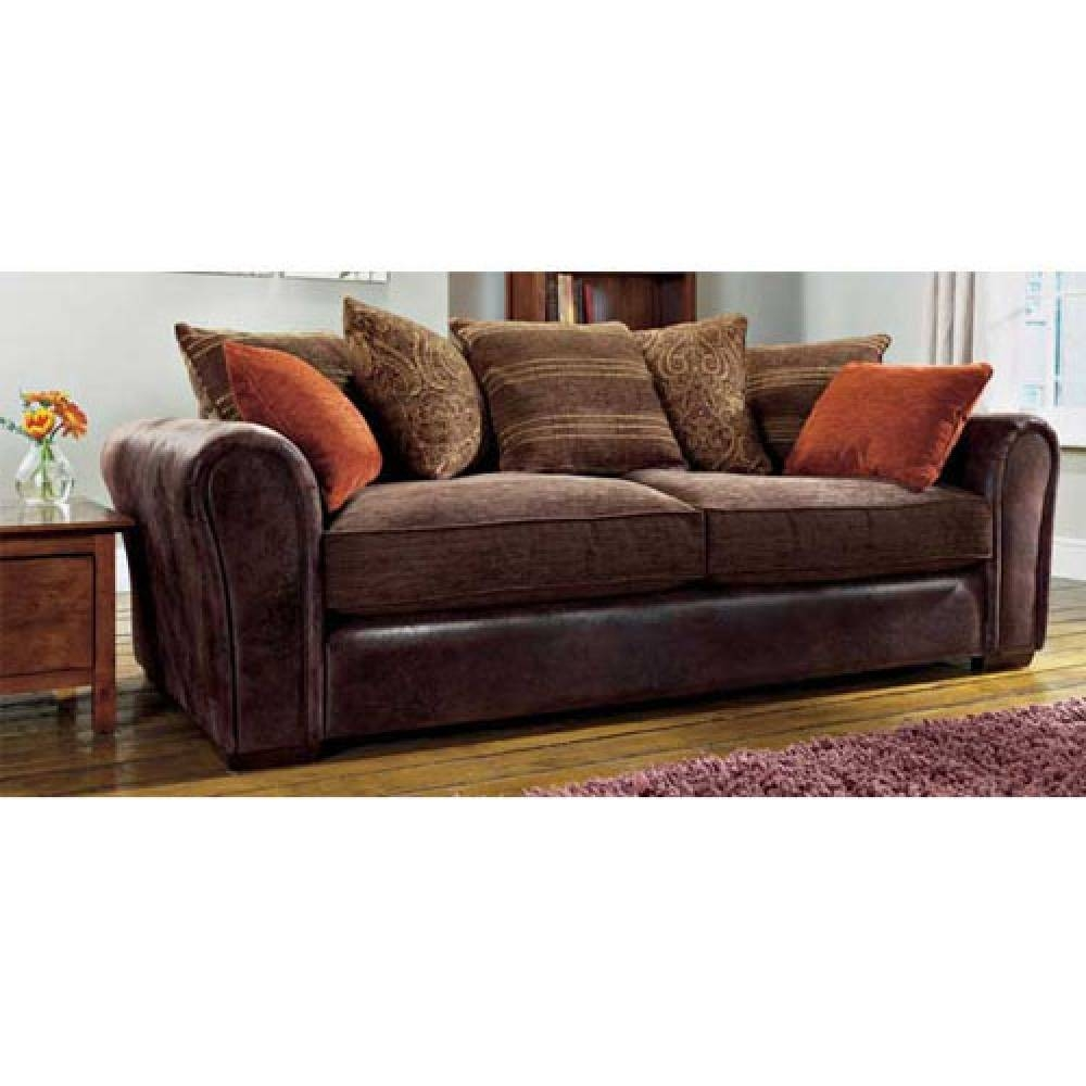 Featured Photo of Leather And Material Sofas