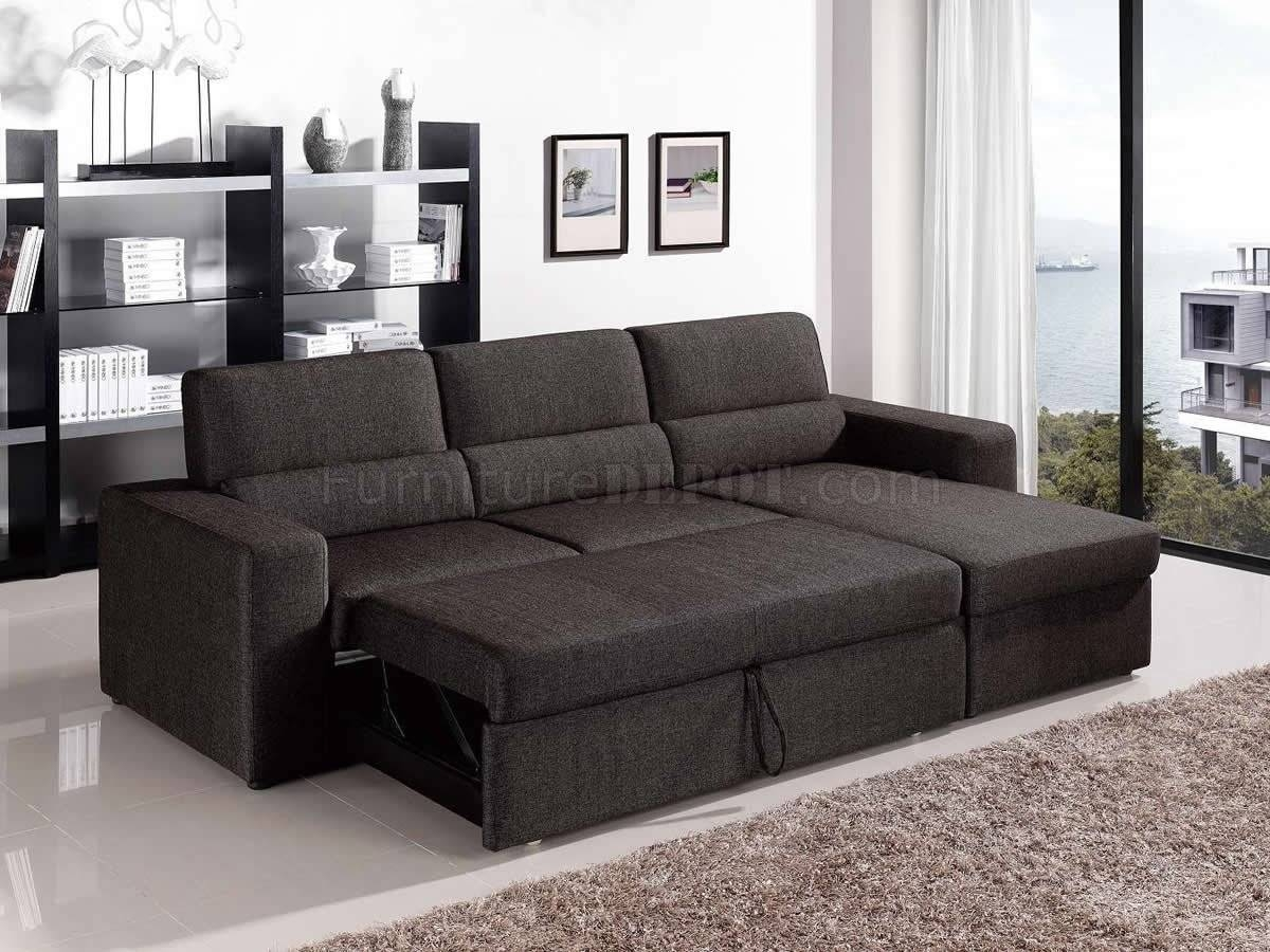 Fabric Modern Convertible Sectional Sofa W/storage with Sectional Sofa With Storage (Image 6 of 25)