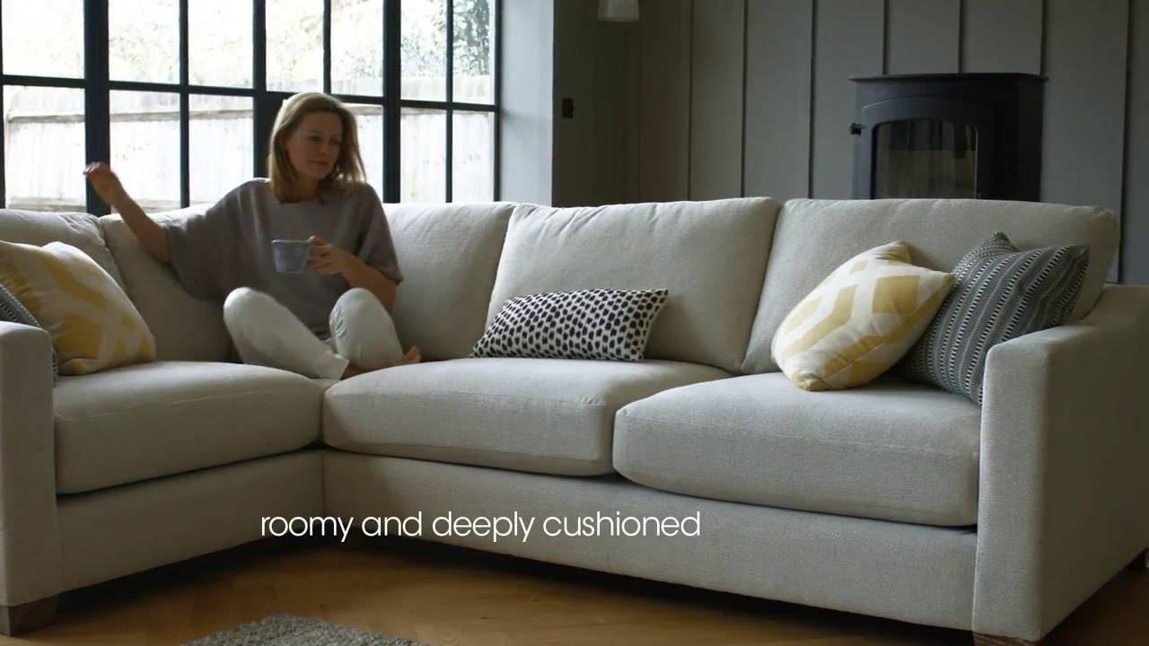 Fabric Modular Corner Sofa – Ambrose | Furniture Village – Youtube With Corner Sofa Chairs (View 14 of 30)