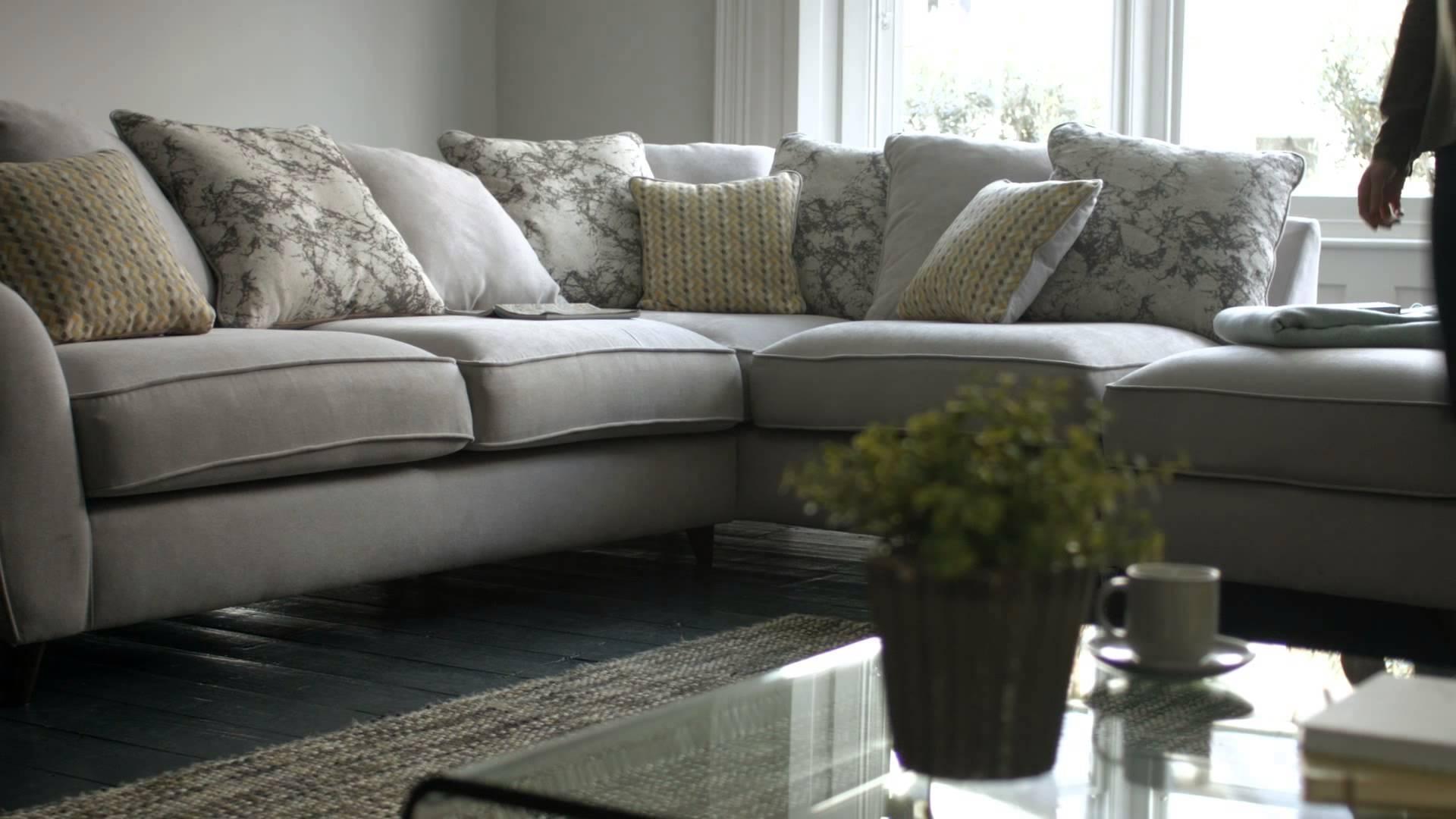 Velvet sofa furniture village for Furniture village