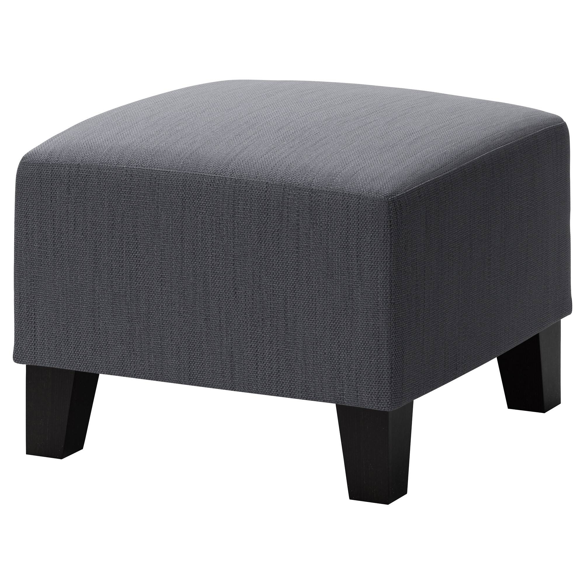 Fabric Ottomans - Ikea inside Fabric Footstools (Image 8 of 30)