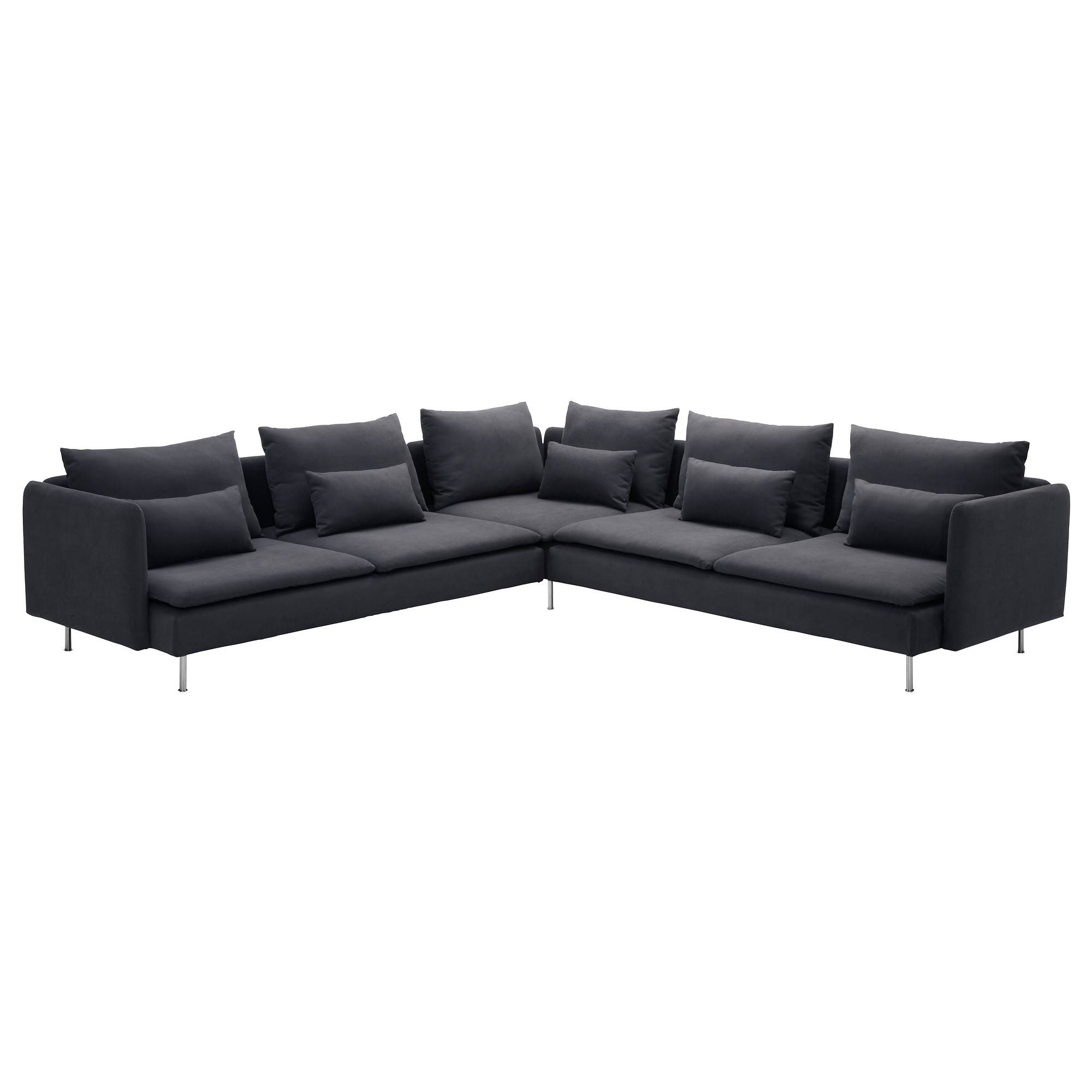 Fabric Sectional Sofas - Ikea pertaining to 2X2 Corner Sofas (Image 11 of 30)