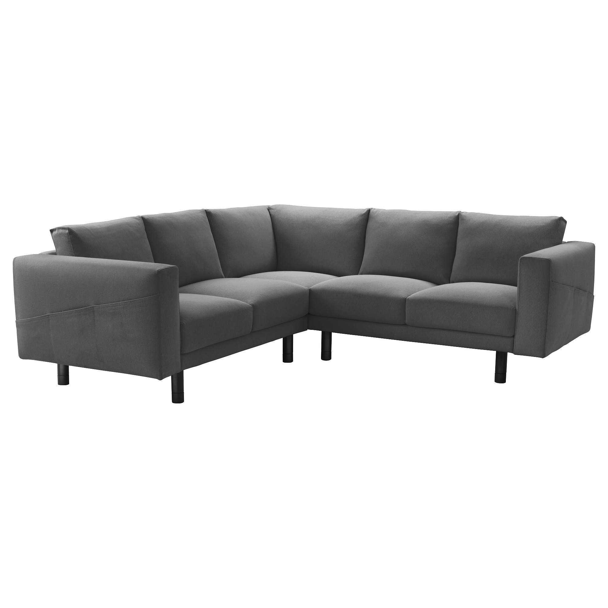 Fabric Sectional Sofas - Ikea with 2X2 Corner Sofas (Image 12 of 30)