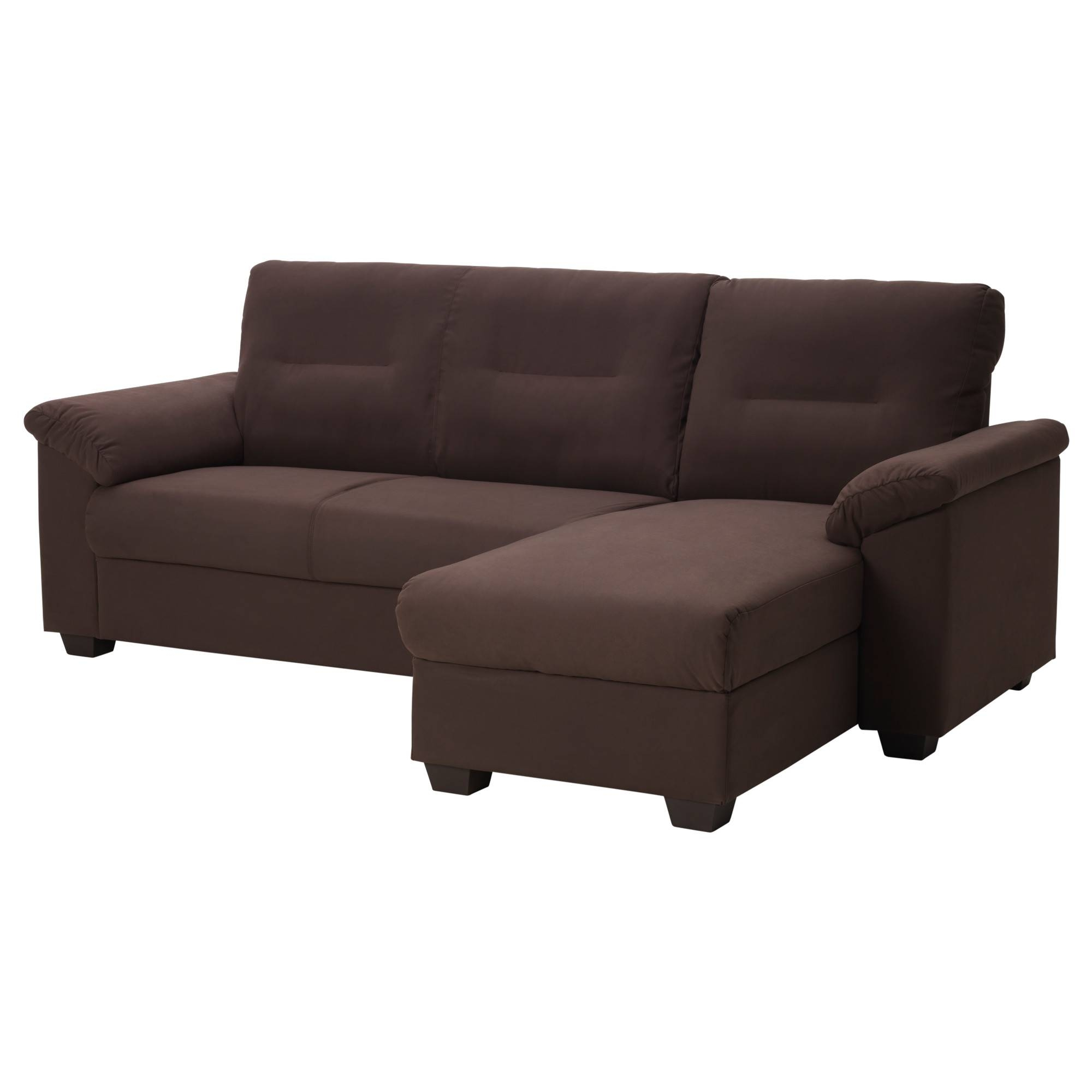 Fabric Sectional Sofas - Ikea with Single Chair Sofa Beds (Image 13 of 30)