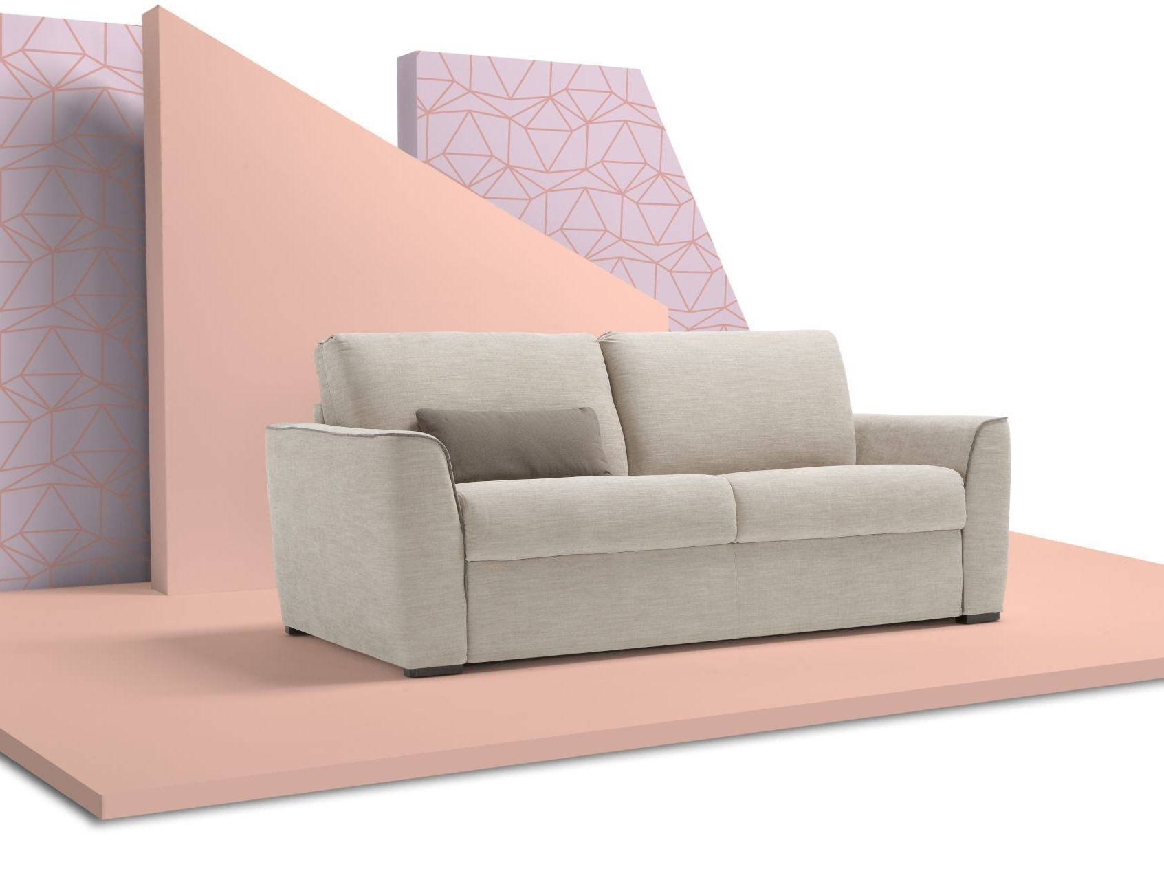 Fabric Sofa Bed With Removable Cover Brixdienne Salotti with Sofas With Removable Covers (Image 8 of 30)