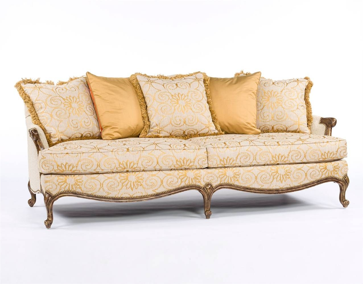 Fabric Sofa Styles regarding French Style Sofa (Image 5 of 25)