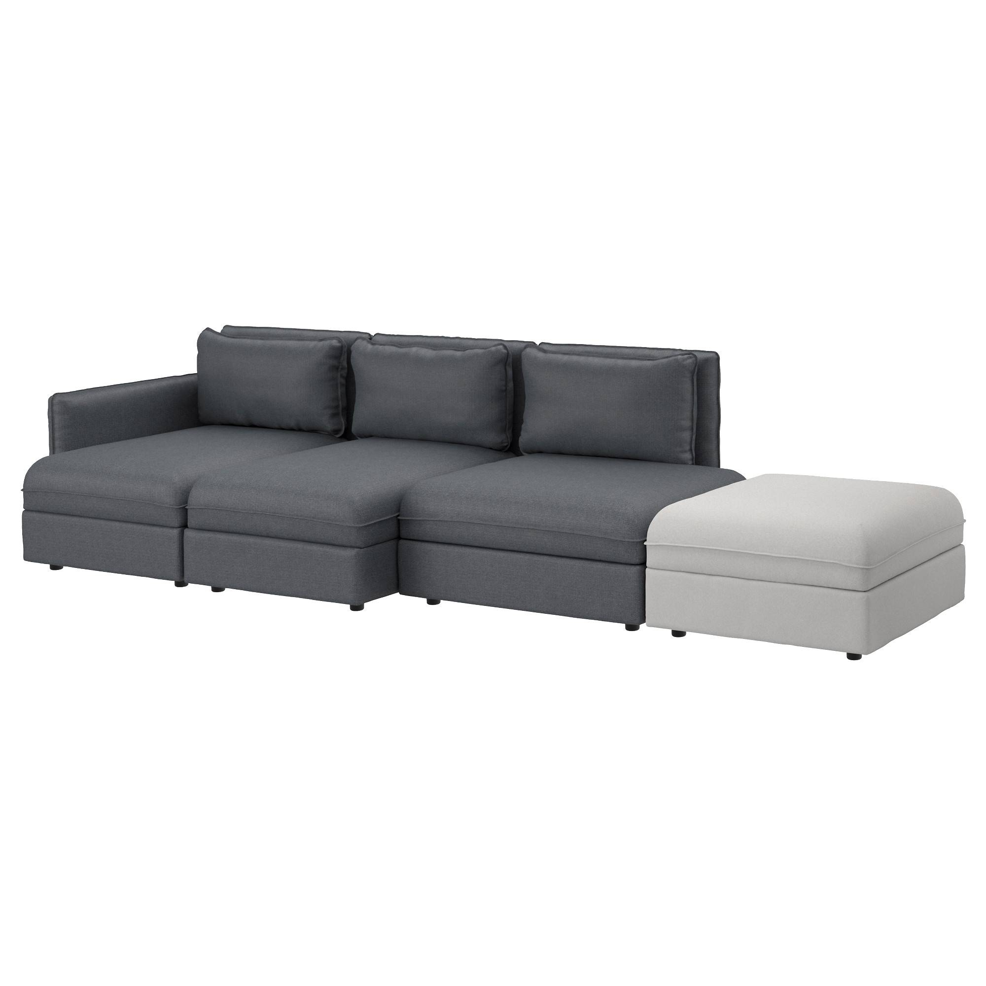 Fabric Sofas - Modern & Contemporary - Ikea intended for 4 Seater Couch (Image 14 of 30)