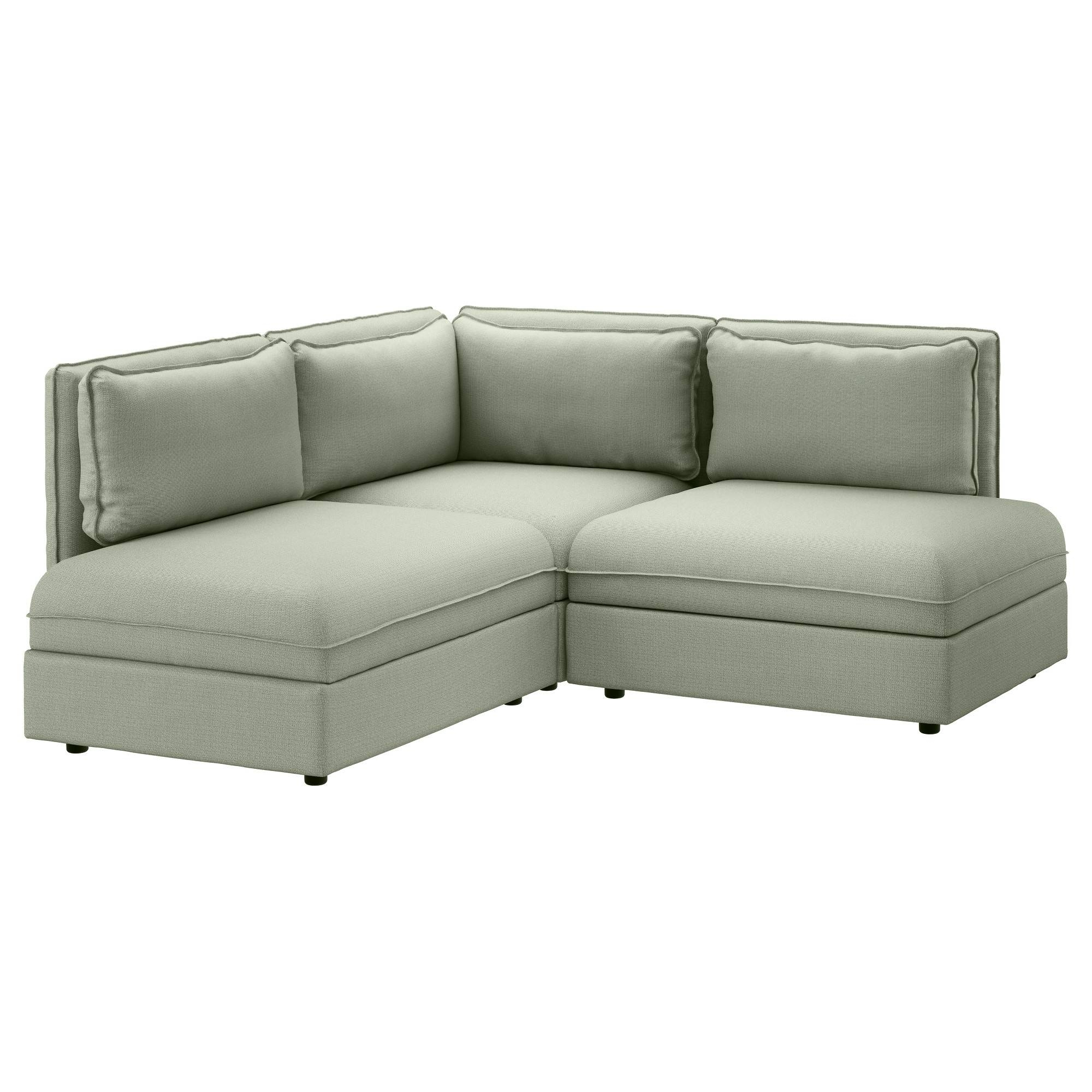 Fabric Sofas - Modern & Contemporary - Ikea pertaining to Backless Chaise Sofa (Image 10 of 30)