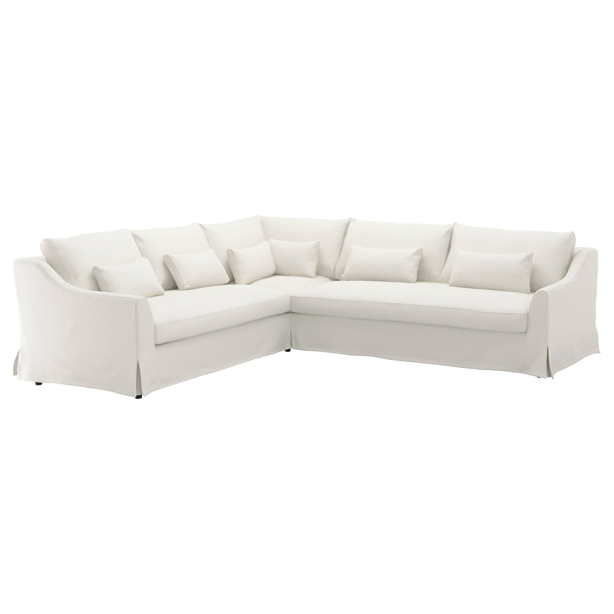 Fabric Sofas - Modern & Contemporary - Ikea within White Sofa Chairs (Image 10 of 30)