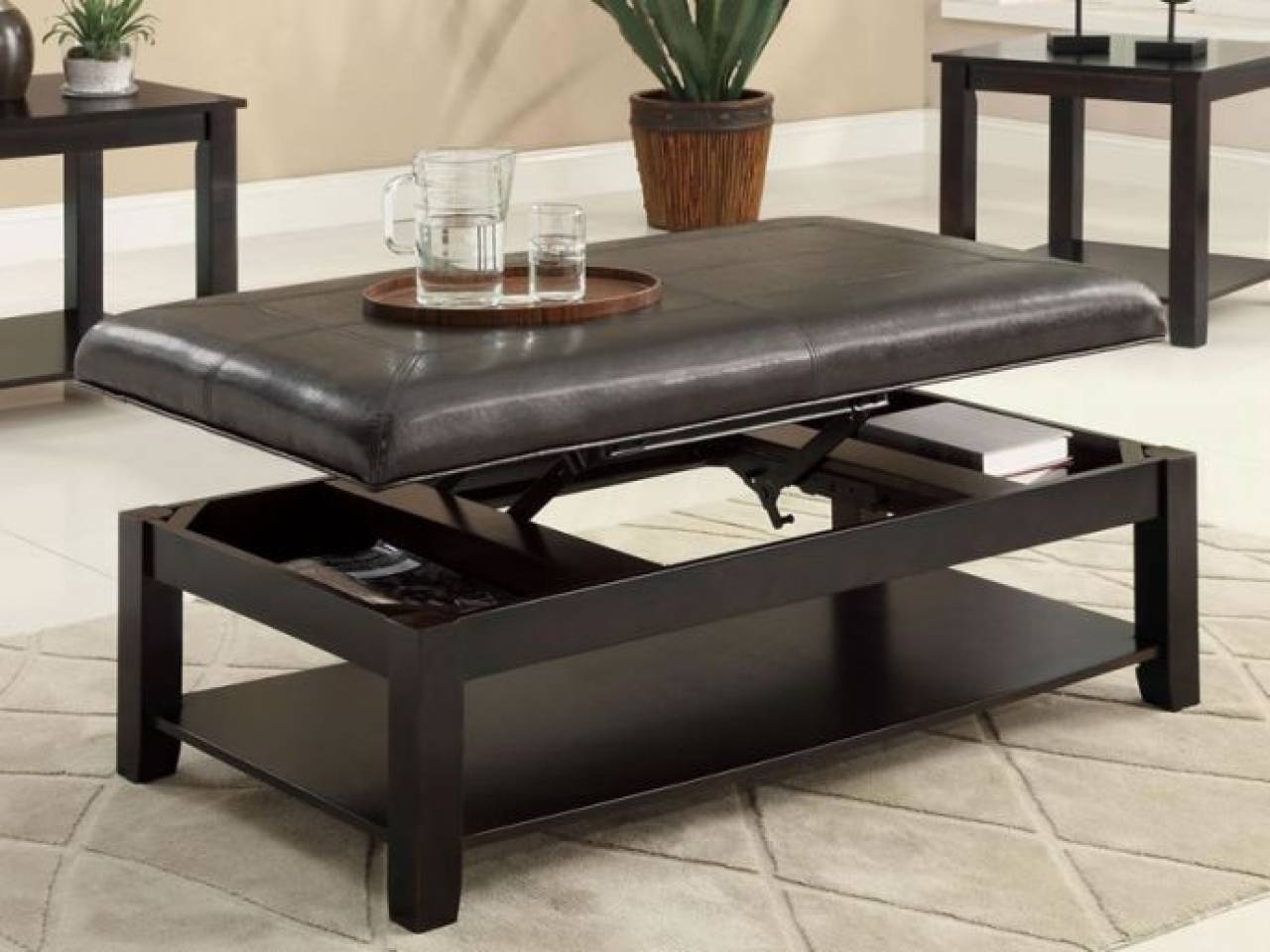 Fabulous Norcastle Coffee Table With Best Furniture Mentor Ashley inside Flip Top Coffee Tables (Image 12 of 30)