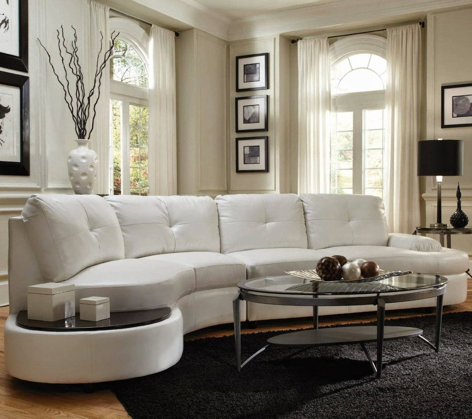 Fabulous Oval Sectional Sofas With Appealing Design - Ajara Decor regarding Oval Sofas (Image 4 of 30)