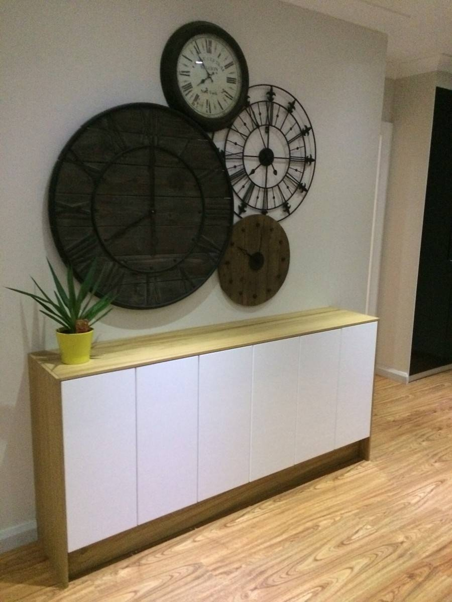 Faktum Wall Cabinets To Buffet/sideboard – Ikea Hackers – Ikea Hackers Regarding Slim Sideboards (View 14 of 30)