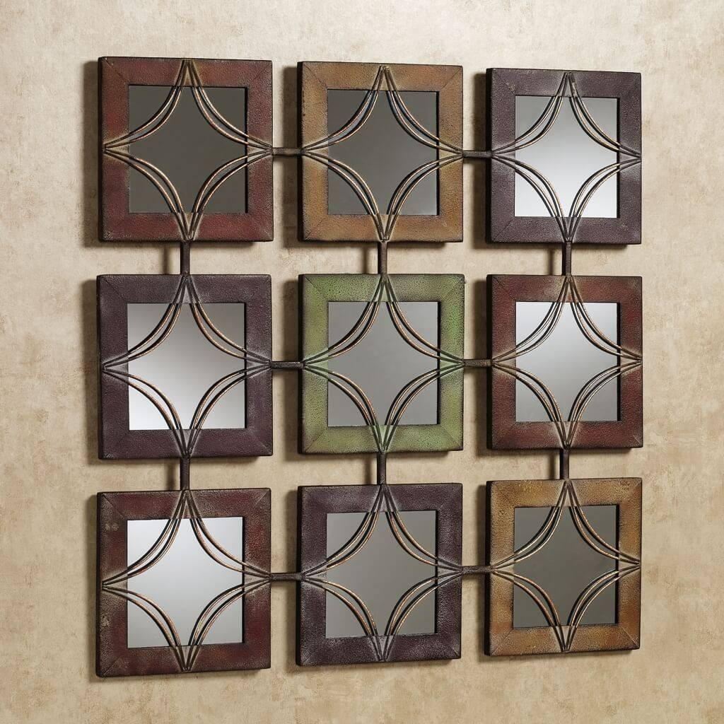 Fancy Decorative Wall Mirrors For Living Room : Perfect Decorative regarding Fancy Wall Mirrors (Image 9 of 25)