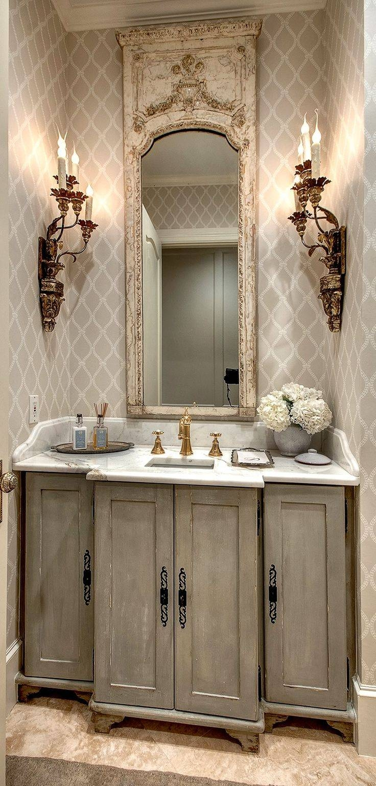 Fancy Old World French Bathroom Mirrors 76 On With Old World in Old French Mirrors (Image 19 of 25)