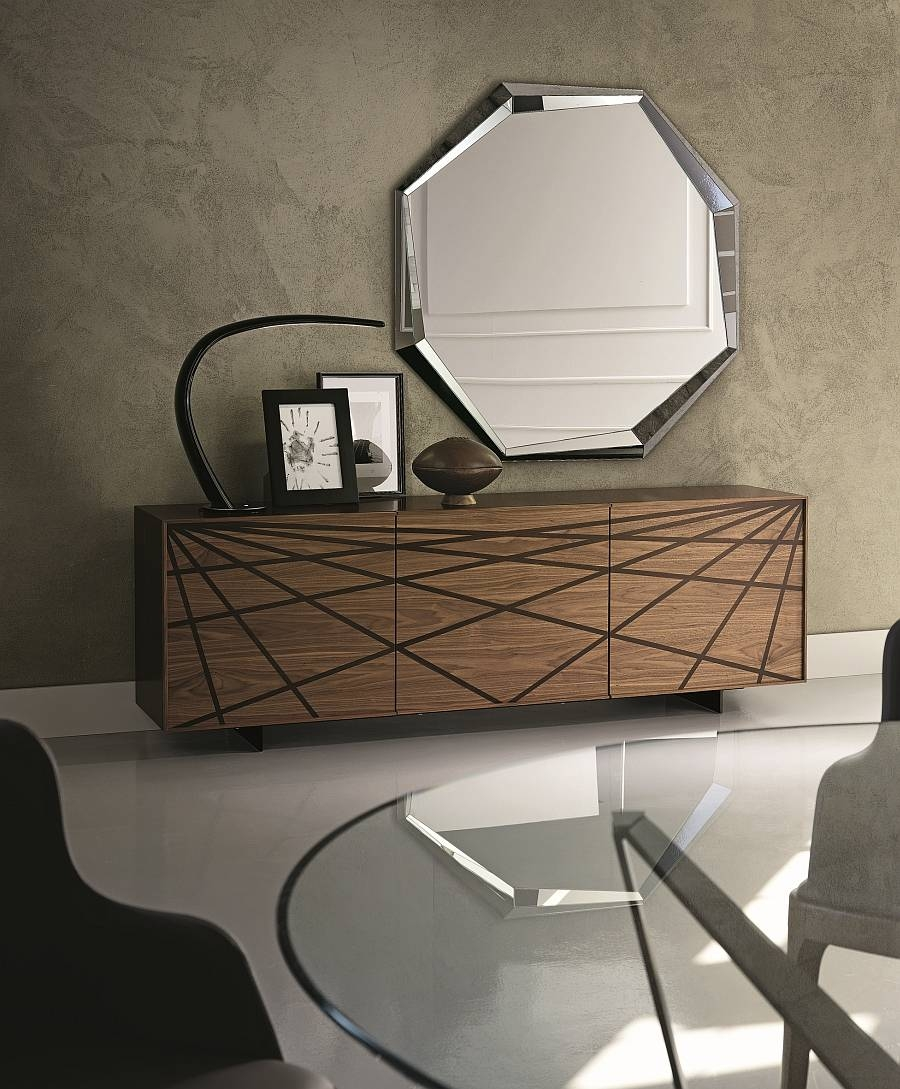 Fantastic And Practical Modern Sideboards With A Touch Of Italian inside Contemporary Wood Sideboards (Image 15 of 30)