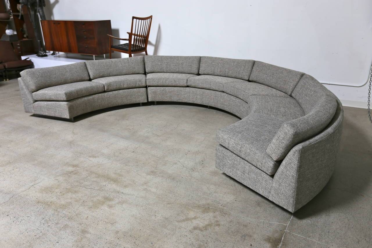 Popular Photo of Circular Sectional Sofa