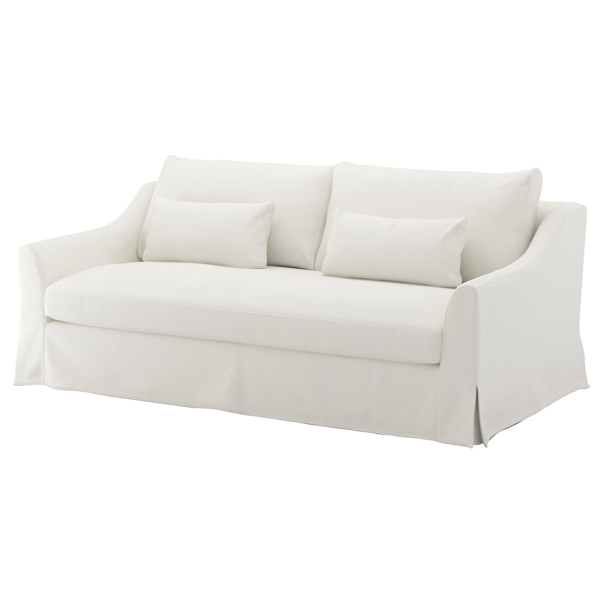 Färlöv Sofa - Flodafors White - Ikea with regard to Black and White Sofas (Image 14 of 30)