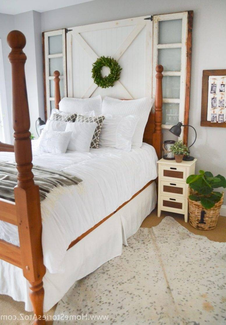 Farmhouse Style Bedroom Furniture L Shaped White Lacquer Oak Wood With Regard To Solid Dark Wood Wardrobes (View 11 of 30)