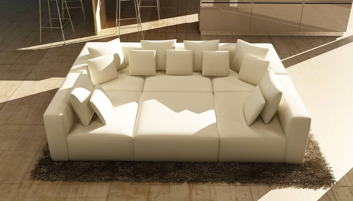 Fascinating Contemporary Black Leather Sectional Sofa Left Side in Closeout Sectional Sofas (Image 10 of 30)