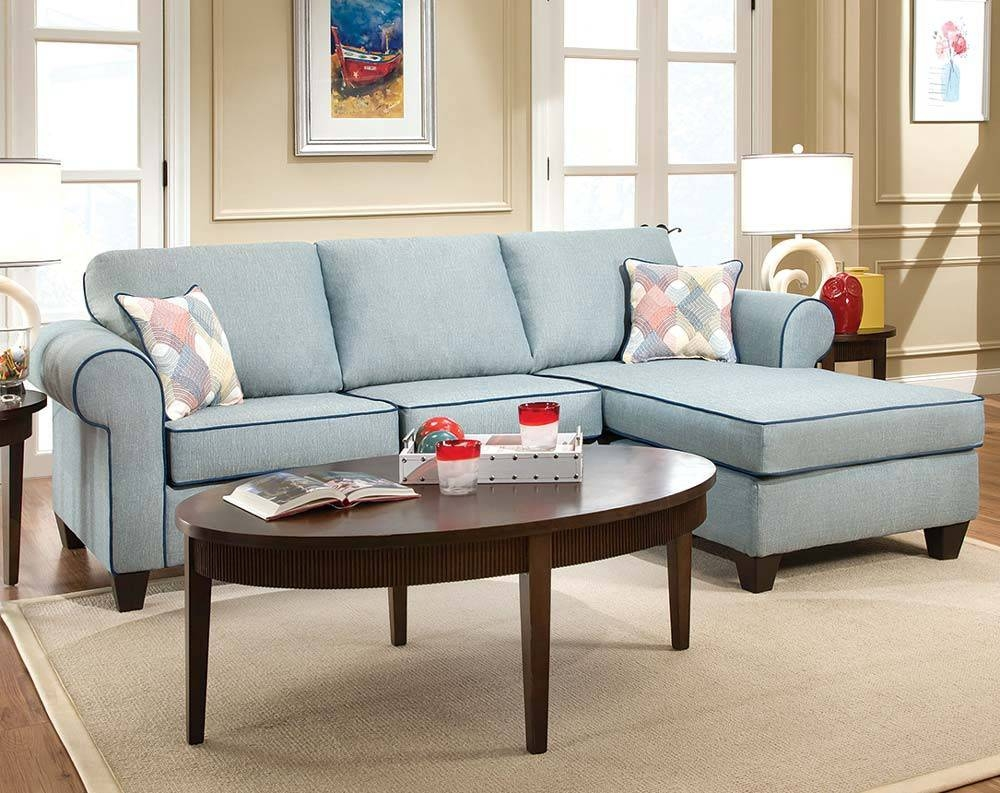 Fascinating Light Blue Sectional Sofa 27 In Craftmaster Sectional with Craftmaster Sectional Sofa (Image 14 of 30)