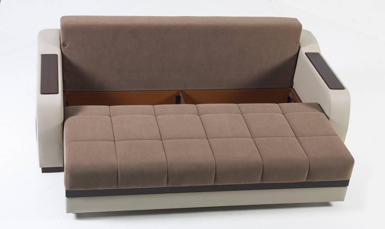 Fascinating Sofa Sleeper With Storage Inside Contemporary Gray pertaining to Sofa Beds With Storages (Image 12 of 30)