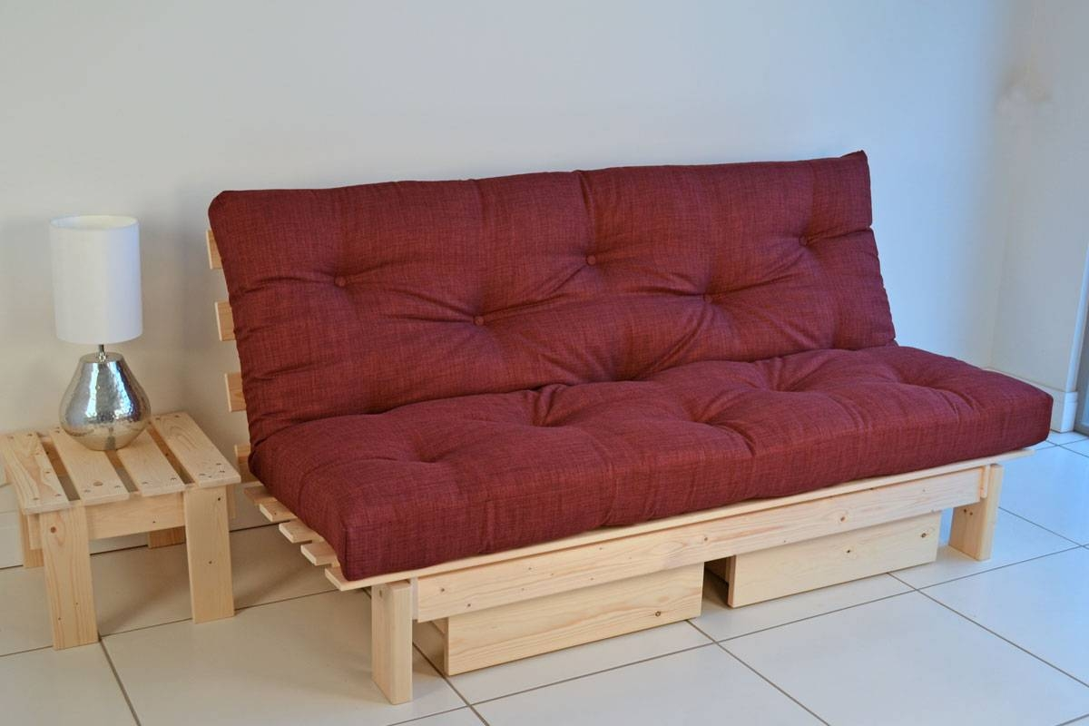 Fashionable Futon Sofa Bed — Home Designing with Fulton Sofa Beds (Image 11 of 30)