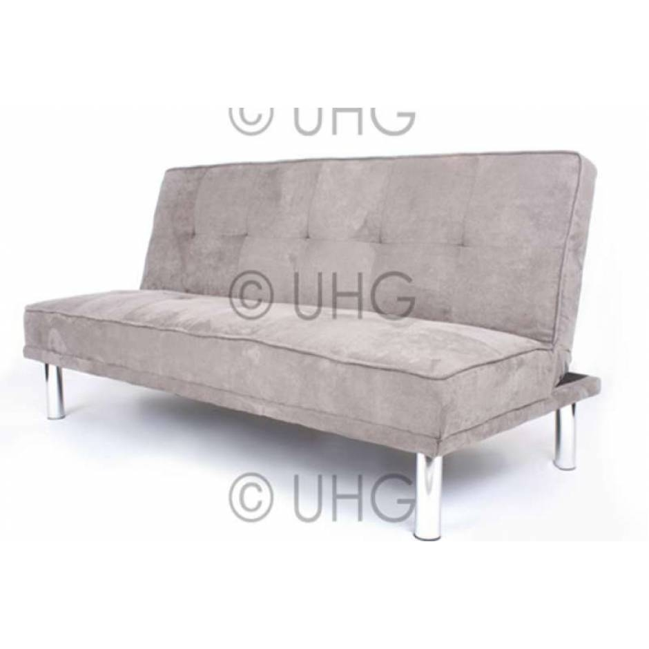 Featured Photo of Faux Suede Sofa Bed