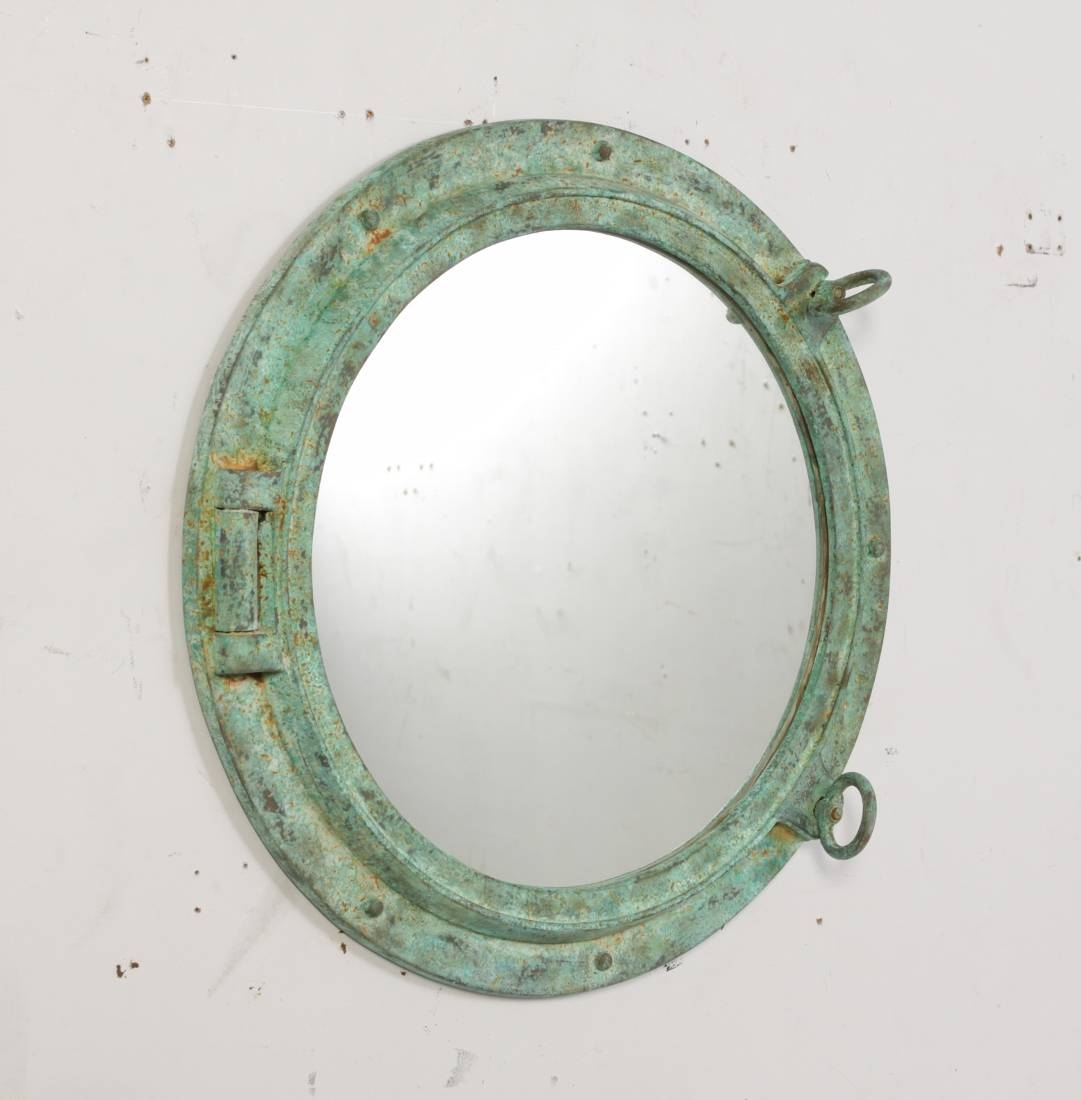 Fiberglass Resin Portholes Many Finishes throughout Porthole Style Mirrors (Image 6 of 25)