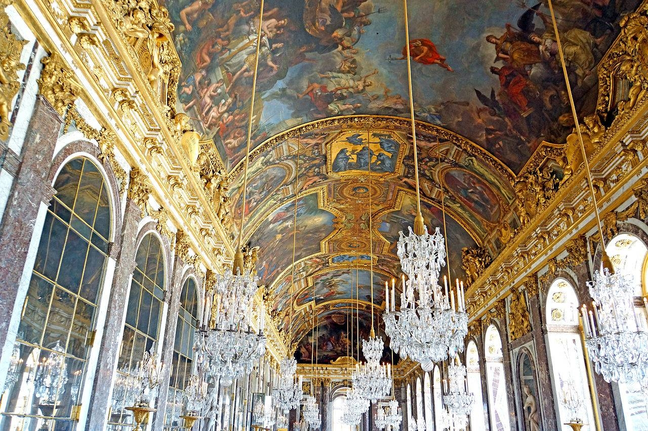 File:france-000369 - Hall Of Mirrors Ceiling (14828645935) intended for Ceiling Mirrors (Image 15 of 25)