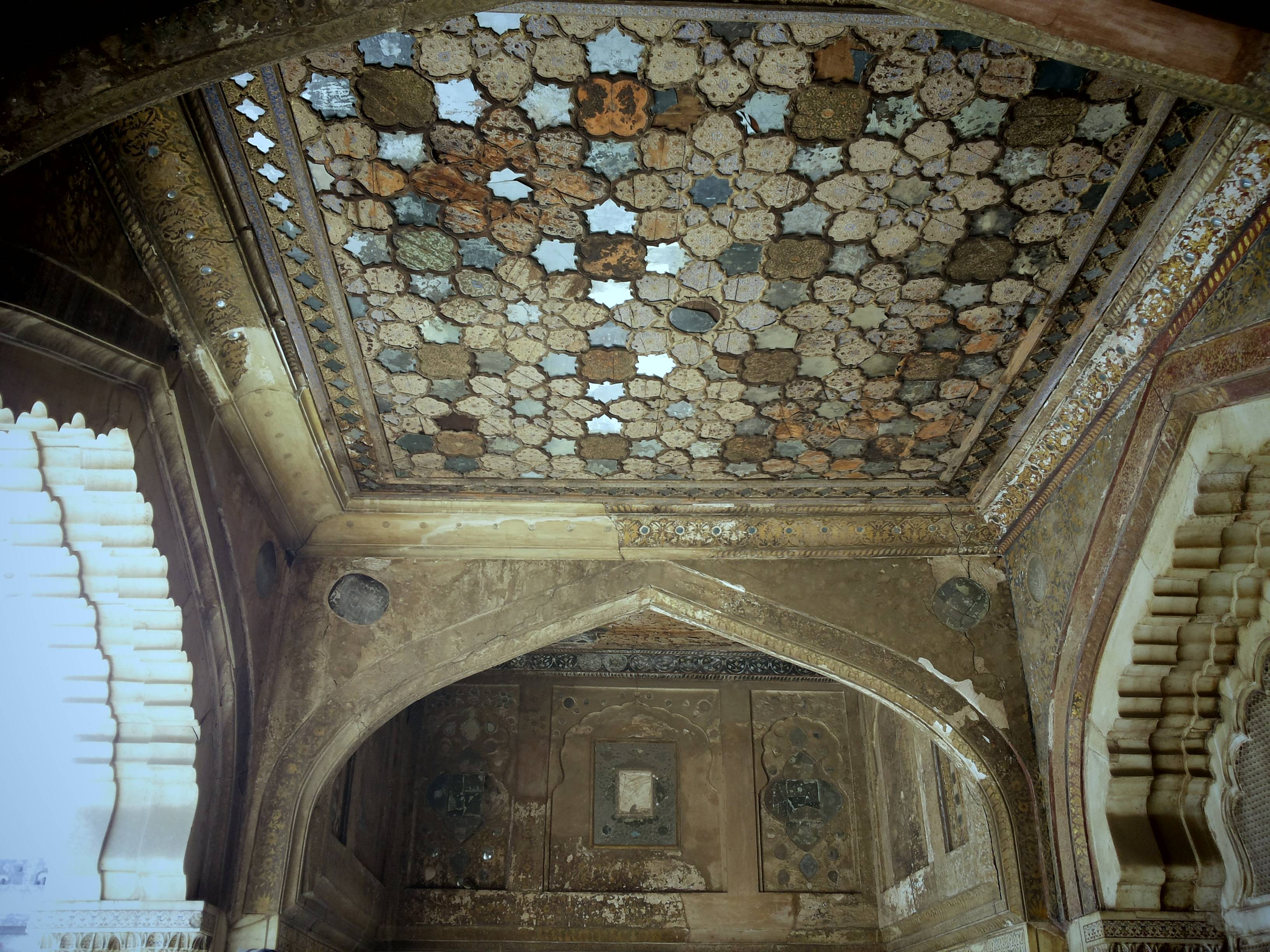 File:sheesh Mahal Ceiling Mirrors - Wikimedia Commons intended for Ceiling Mirrors (Image 16 of 25)