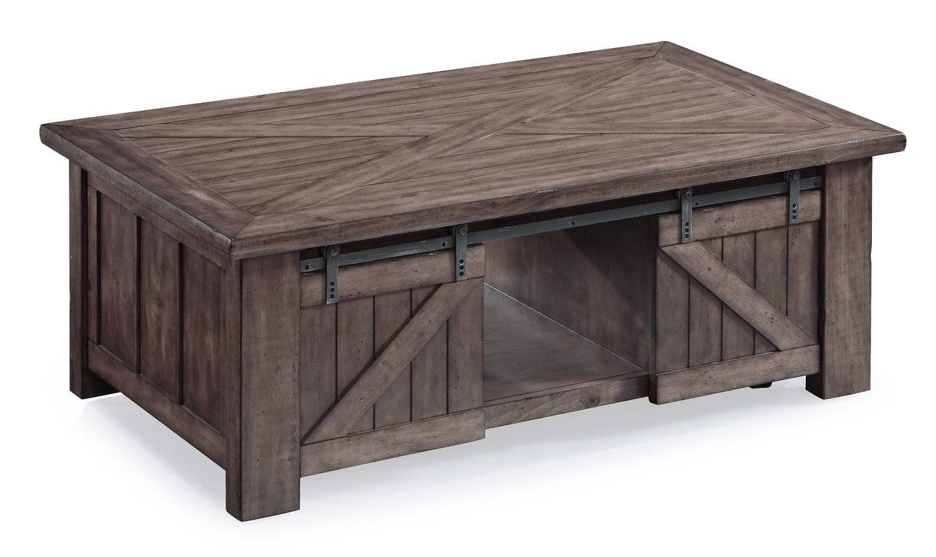 Find The Best Storage Coffee Tables | Wayfair intended for Puzzle Coffee Tables (Image 19 of 30)