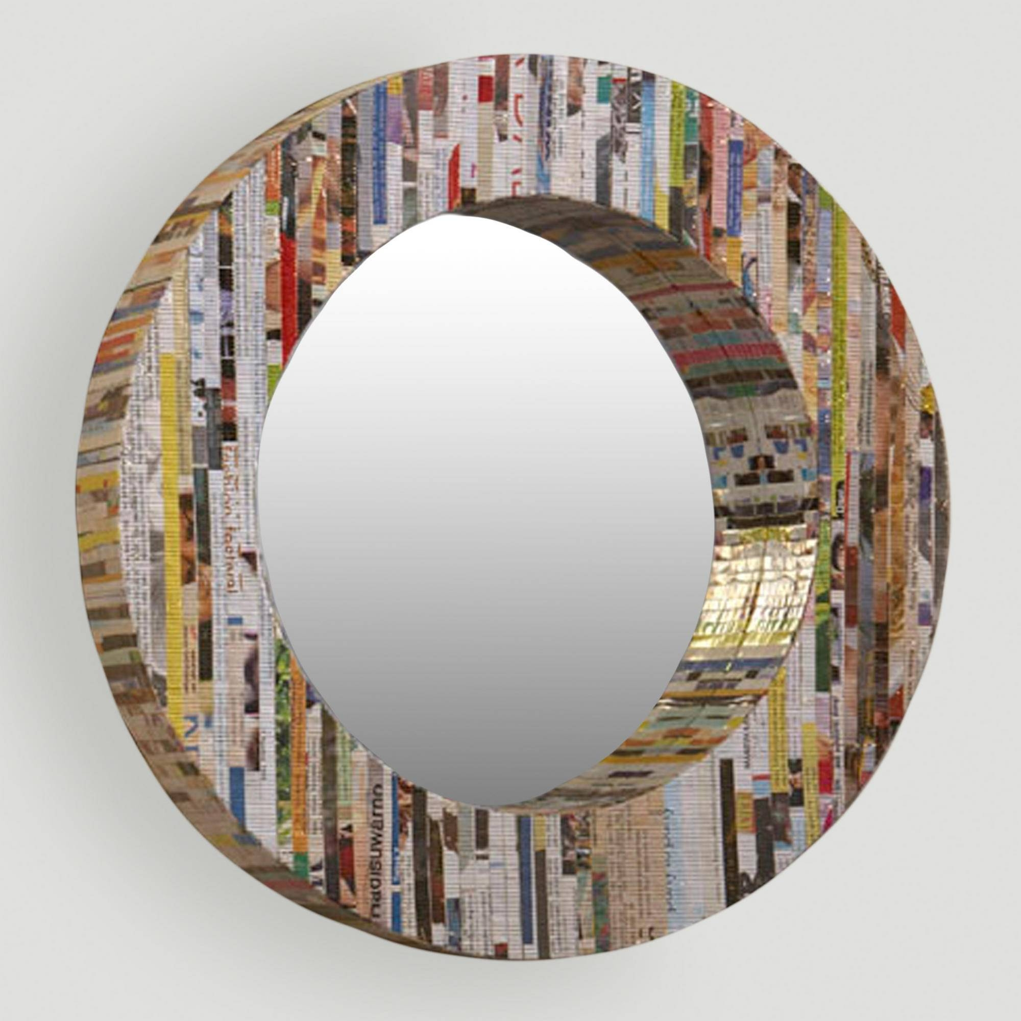 Find This Pin And More On Unique Decorative Wall Mirrors. . The 25 with Circular Wall Mirrors (Image 10 of 25)