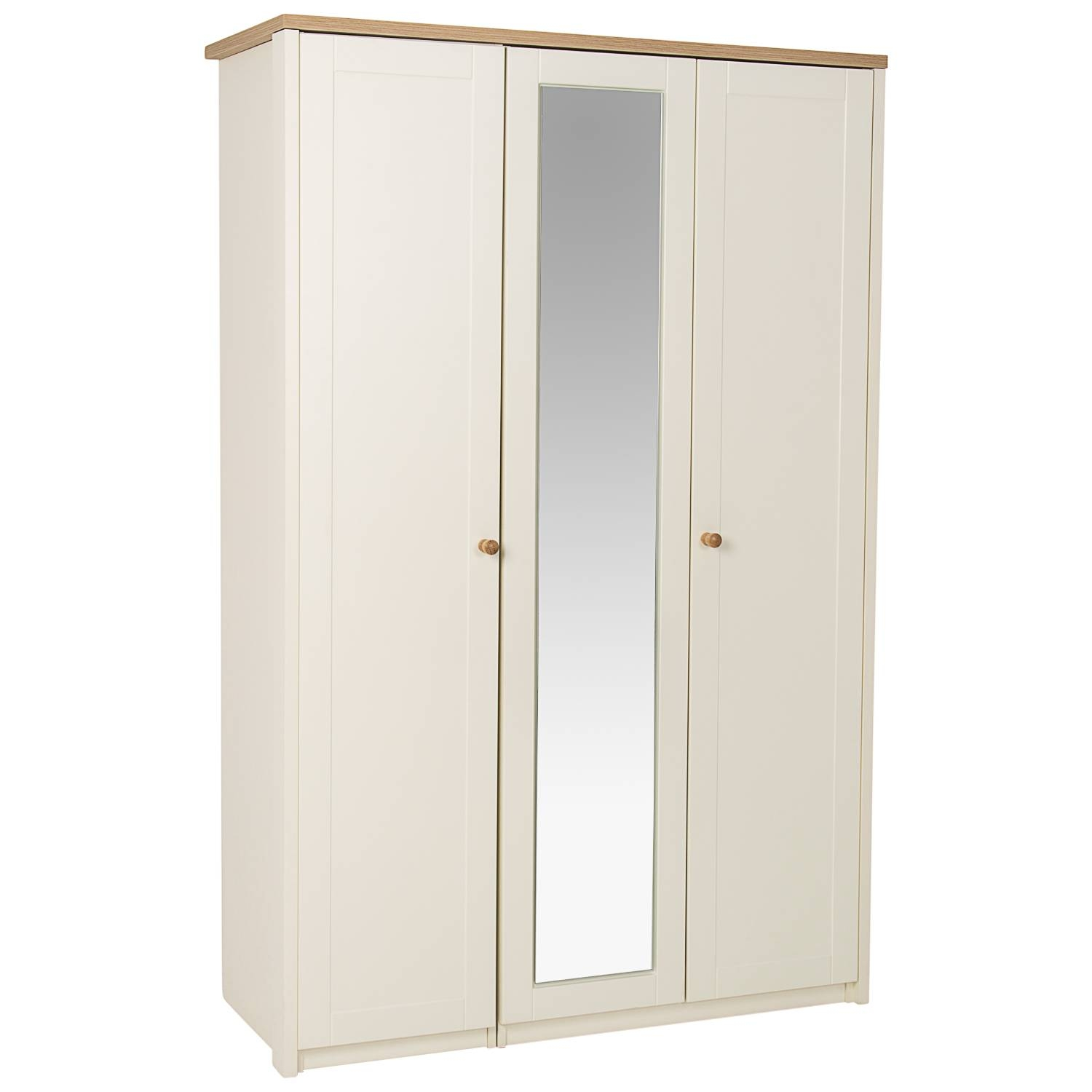 Findon 3 Door Mirrored Wardrobe – Next Day Delivery Findon 3 Door pertaining to 3 Door Mirrored Wardrobes (Image 9 of 15)