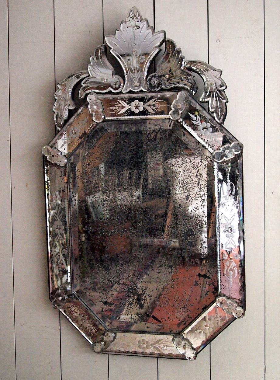 Fine Antique Venetian Mirror › Puckhaber Decorative Antiques with Antique Venetian Mirrors (Image 14 of 25)