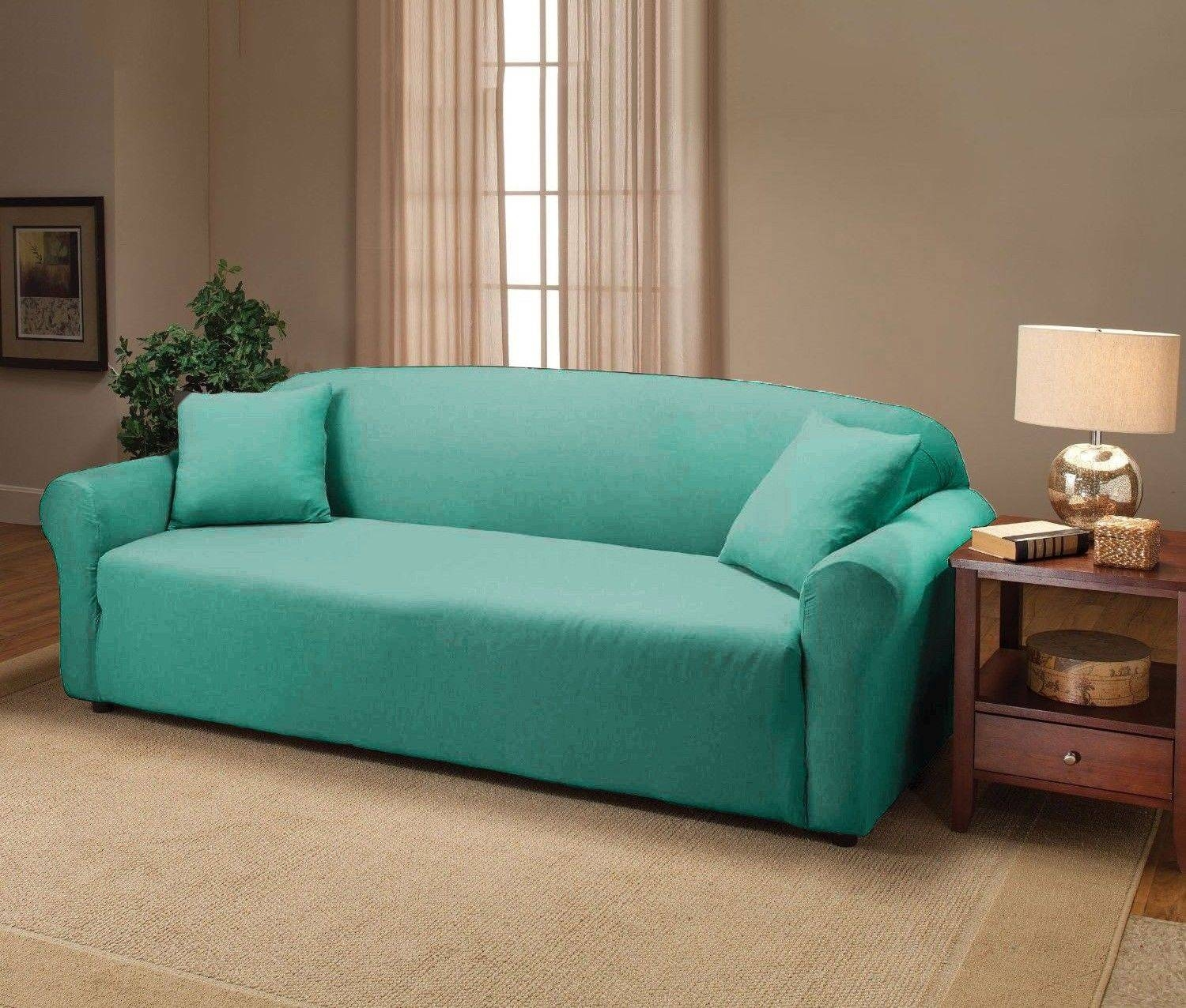Fine Couch Covers With Recliners Size Of Living Roomdual Reclining for Turquoise Sofa Covers (Image 6 of 30)
