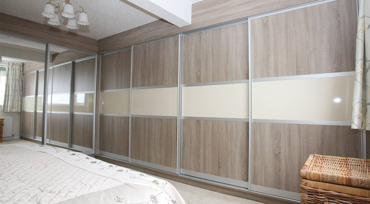 Fineline Interiors, Fitted Sliding Wardrobes, Mr & Mrs Brace, Norden With Regard To Cream Gloss Wardrobes Doors (View 5 of 15)