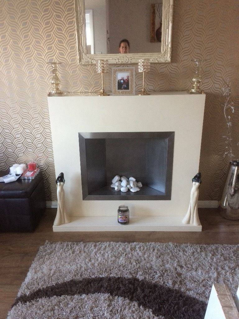 Fireplace And Coffee Table And Matching Tv Unit | In Devizes in Matching Tv Unit And Coffee Tables (Image 13 of 30)