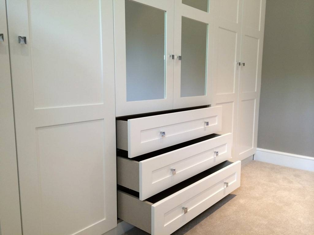 Fitted Bedrooms & Built In Wardrobes – London Bespoke Interiors Regarding Drawers For Fitted Wardrobes (View 18 of 30)