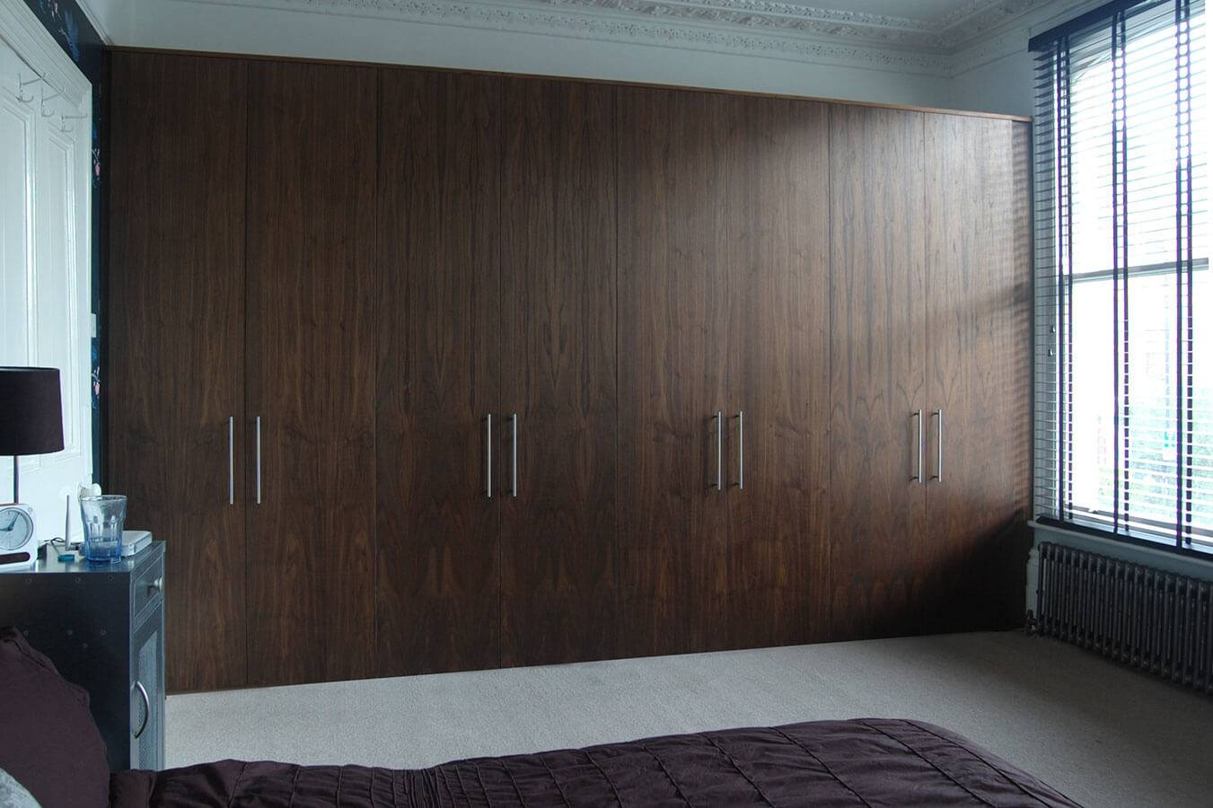 Fitted Bedrooms | Wardrobes, Beds And Chests Of Drawers in Walnut Wardrobes (Image 5 of 15)