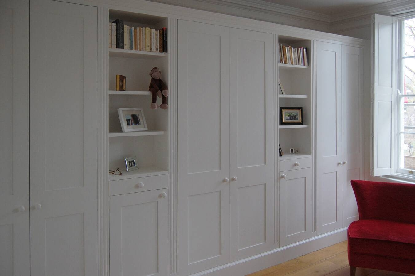 Fitted Bedrooms | Wardrobes, Beds And Chests Of Drawers in Wardrobes With Shelves (Image 11 of 30)