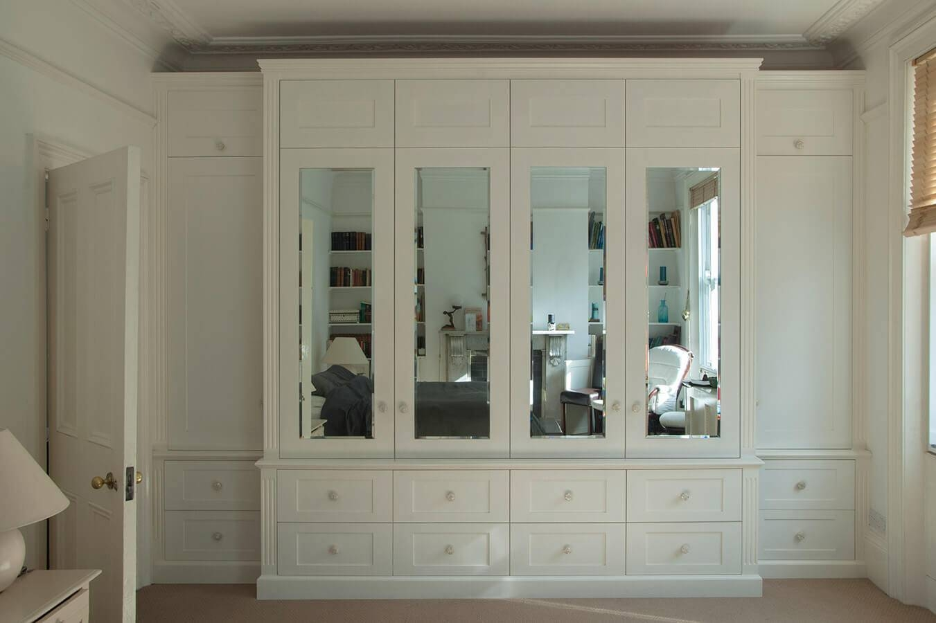 Fitted Bedrooms | Wardrobes, Beds And Chests Of Drawers Throughout Wardrobes With Mirror (View 3 of 15)