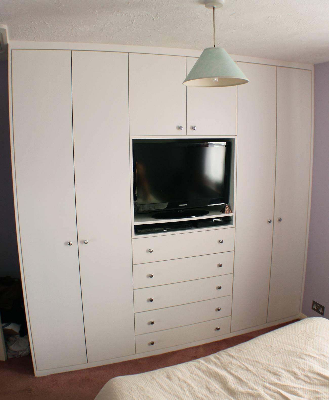 Fitted Sliding Mirror Wardrobes Are A Great Start To Any Bedroom intended for Built in Wardrobes With Tv Space (Image 22 of 30)