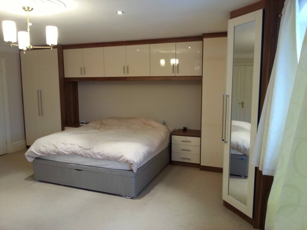 Fitted Wardrobes For A Large Bedroom with regard to Over Bed Wardrobes Sets (Image 12 of 15)
