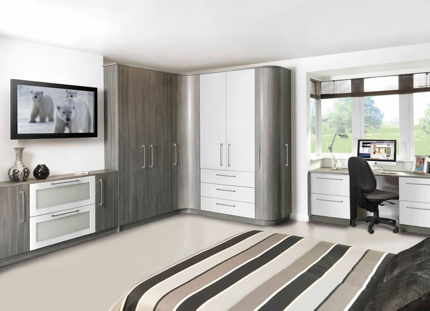 Fitted Wardrobes For Your Bedroom Telford Shropshire – Intended For Drawers For Fitted Wardrobes (View 9 of 30)