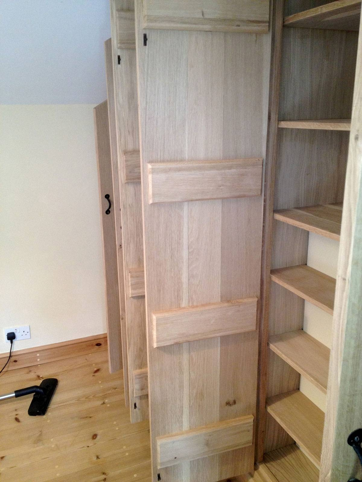 Fitted Wardrobes, Norwich - The Norfolk Carpenter for Solid Wood Fitted Wardrobes (Image 14 of 30)