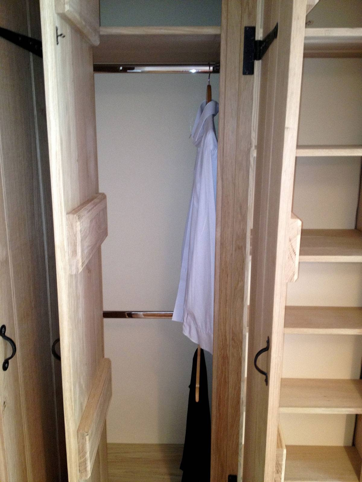 Fitted Wardrobes, Norwich - The Norfolk Carpenter regarding Solid Wood Fitted Wardrobes (Image 15 of 30)